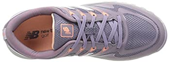 New Balance Womens Nbgw1006 Golf Shoe, Purple, 4.5 Uk 7