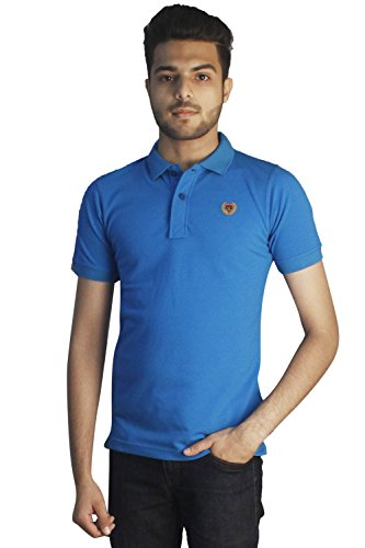 Tapasya T Blue Polo T-Shirt