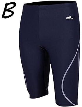 iiinnine Troncos de natación Pantalones cortos Cómodo Tamaño grande Baño para hombres Jugar Water Hot Spring Swimwear...