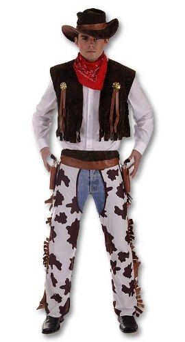 Western Rodeo Cowboy Herrenkostüm-XL