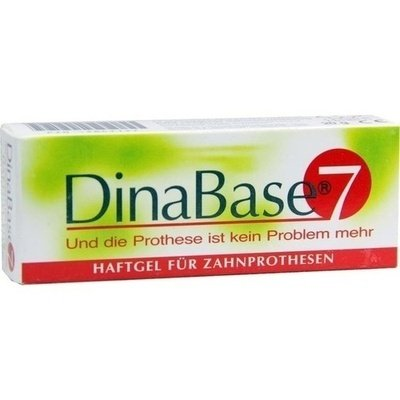 DINABASE 7 unterfütt.Haftmaterial f.Zahnproth.
