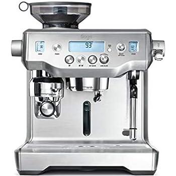 Sage BES870UK the Barista Express Espresso Machine - Silver ...