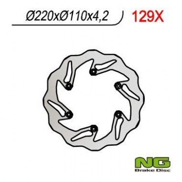 Preisvergleich Produktbild KTM EXC SX SXF 450 - 505 - 520 - 525 - 530-disque Bremsbeläge rückseitigen NG NEU wave-350129 x