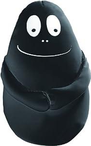 Barbapapá - Peluche Bean Doll, 50 cm, Color Negro (Leblon-Delienne LEBRST04487)
