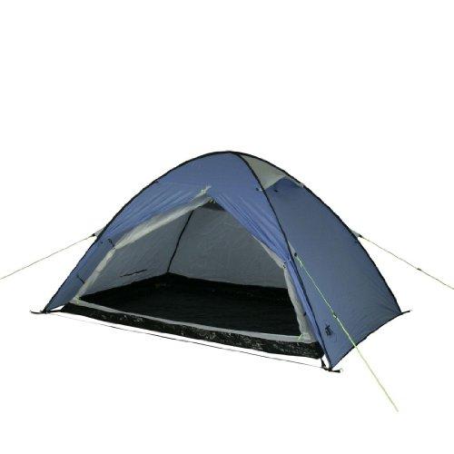 10T Outdoor Equipment 10T Camping-Zelt Easy 2 Pop-Up Wurfzelt mit Schlafkabine für 2 Personen Automatik-Zelt mit eingenähter Bodenwanne, Dauerbelüftung, wasserdicht mit 5000mm Wassersäule