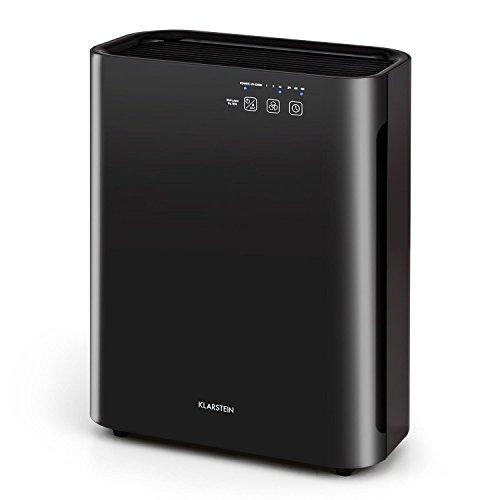 Klarstein - Vita Pure 2G Purificador de aire Ionizador (55W potencia, filtro HEPA)- negro