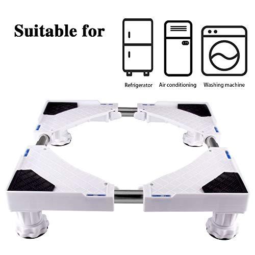 SMONTER - Base móvil para muebles o electrodomésticos, ajustable, con 4 ruedas