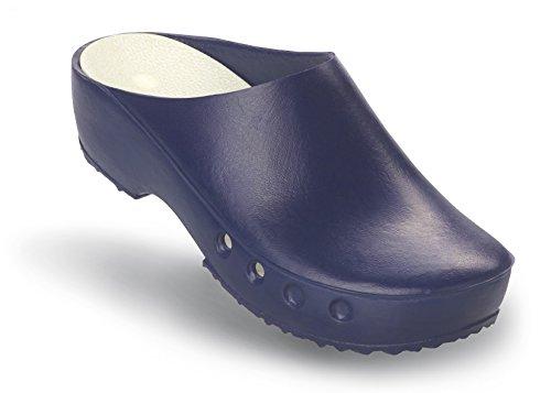 Schürr OP-Schuhe Chiroclogs Classic mit und ohne Fersenriemen Blau