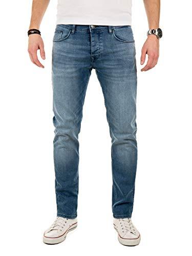 Wotega pantaloni uomo jeans alistar - slim fit skinny marino, blu (blue denim 683), w32/l30