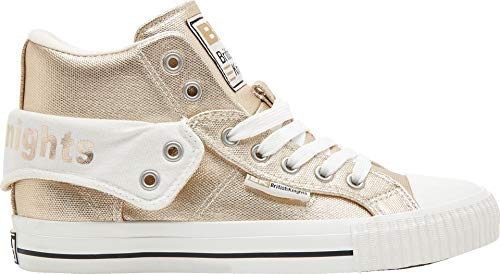 British Knights Damen ROCO High-Top, Gold, 40 EU