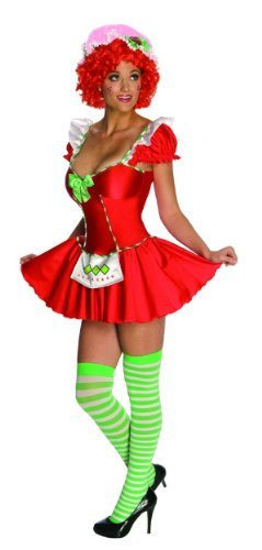 Sexy Costume Adult X-Small (Strawberry Shortcake Kostüm Für Erwachsene)