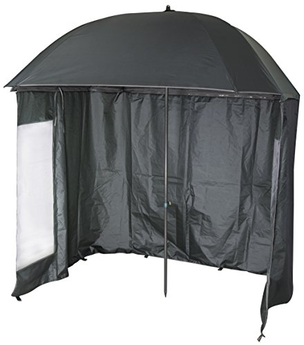 VTK Fishing - Angel Schirmzelt - 2m20 - Shelter - Neigbar - 210T Super Beschichtet