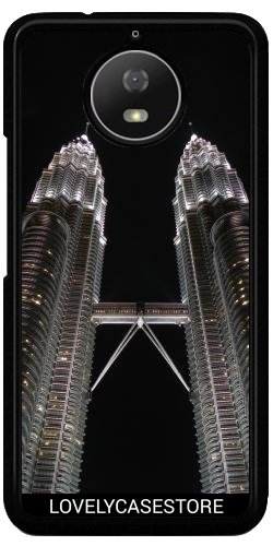 Funda Carcasa Cover para Lenovo Moto G5S - Petronas Tower Kuala Lumpur...