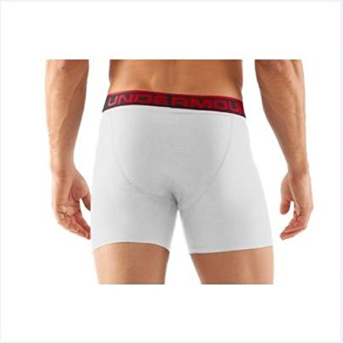 Under Armour Herren Sportswear Unterhose The Original 6 Zoll Boxerjock White