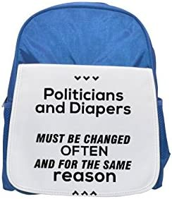 Quote about nasty kid's politics printed kid's nasty Bleu  backpack, Cute backpacks, cute small backpacks, cute Noir  backpack, cool Noir  backpack, fashion backpacks, large fashion backpacks, Noir  fashion backpa 8e393f