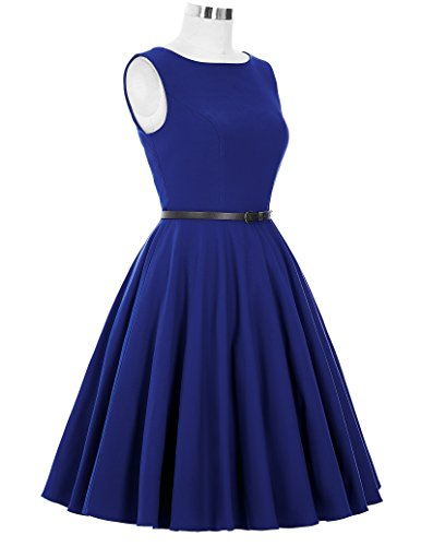 50s Rockabilly Kleid Festliches Kleid Partykleider Cocktailkleider GD6086 New BP157-3