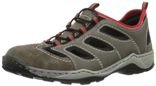Rieker 8075, Sneakers homme Marron (brasil/polvere/schwarz/rosso 27)