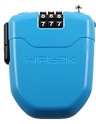 Hiplok FX - Candado de cable - con reflector azul 2017