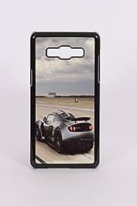 Fuson PVC-2D Metallic Car Printed Designer Back Case Cover for Samsung Galaxy A5 - RD665