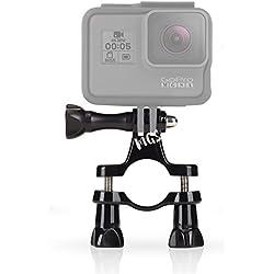 MadridGadgetStore® Soporte de Manillar Tubo Tija Potencia Barra Sillín para Cámara Videocámara Go Pro GoPro HD Hero6 Hero5 Hero4 Hero3+ Hero3 Hero 6 5 4 3+ 3 2 1 4K60 Black Silver Session SjCam Sj4000 Sj5000 Sj6000 Sj7000 M10 M20 ActionPro x7 Xiomi Yi 4K Sony HDR Hdr-as15 HDR-As20 As20 As30v AS50 As100v As200v Hdr-az1 Mini FDR-X1000v Bicicleta Bici Mountain Bike Ajustable Deportes de Montaña Adaptador Envío Gratuito, Alta Calidad