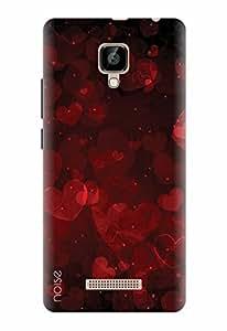Noise Designer Printed Case / Cover for Lava A48 / Patterns & Ethnic / Intense Love Design