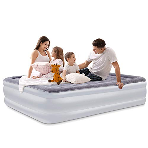 SPREEY Matelas Gonflable 2 Personnes, Lit Gonflable 2...