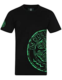 Celtic FC Official Football Gift Mens Graphic T-Shirt Grey 1896b62f5
