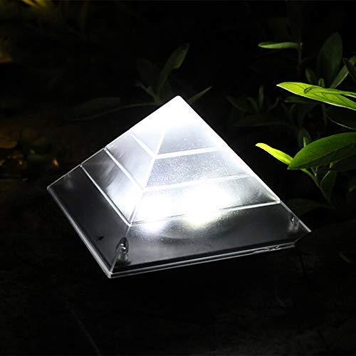Solar Dekoration Pyramide Led Solar Licht Außen Stehleuchte Unterirdisch Begraben Warmweiß Rasen...