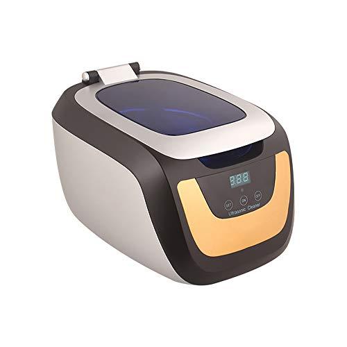 MUYIER Ultraschallreiniger, Ultraschall-Schmuckreiniger Mit Reinigungskorb Und Uhrenständer Für Schmuck,EU