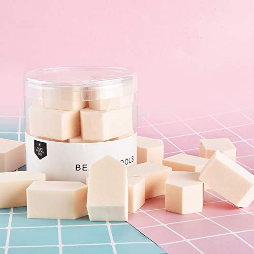 LanLan 15 pcs/boîte éponge feuilletée cosmétique Visage Fond de Maquillage Doux éponges de Contour de Poudre Couleur de Peau