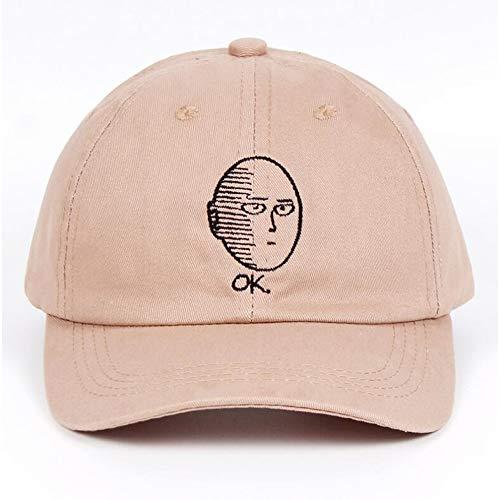 ZKADMZ  Sombrero 100% Gorra De Béisbol De Algodón Anime Ventilador Bordado  Divertido Sombreros para Mujeres Hombre Hombre Uno 1fde4a1920f