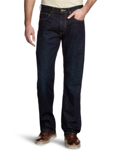 Lee - Kent - Jeans Homme Bleu - Blau (MIDNIGHT WORN)