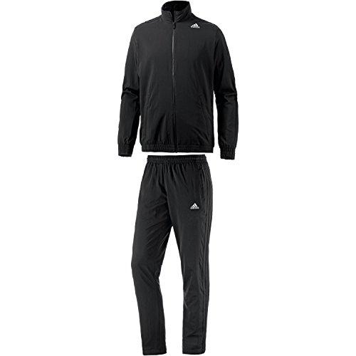 adidas Herren Trainingsanzug Essentials Woven schwarz