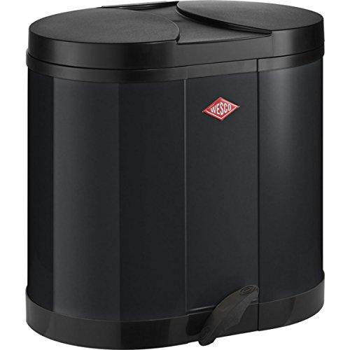 Wesco Öko-Sammler 170 - 2 x 15 Liter schwarz