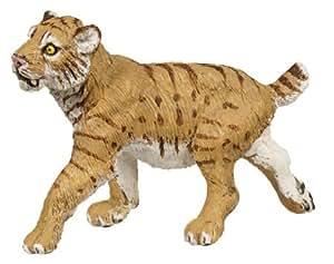 Plastoy - 2798-29 - Figurine - Animal - Tigre A Dents De Sabre Bebe