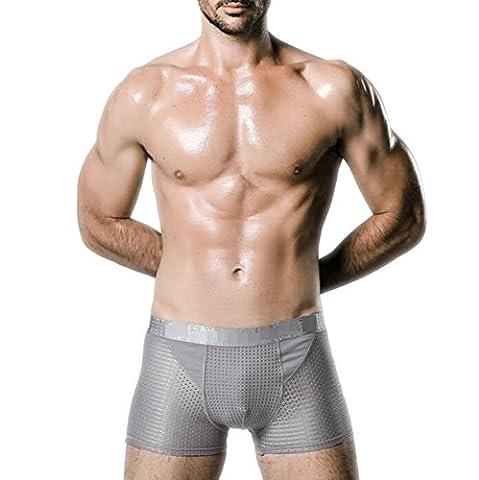 Sommer Mesh Seide Eis Magneten Gesundheit Männer Unterwäsche