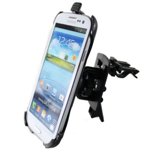 KRS - S4mHL2 - KFZ Auto Halter Halterung Lüftungsgitter lüftungs Emit Mount für Samsung Galaxy S4 mini 100% Passgeanu hochwertig HR