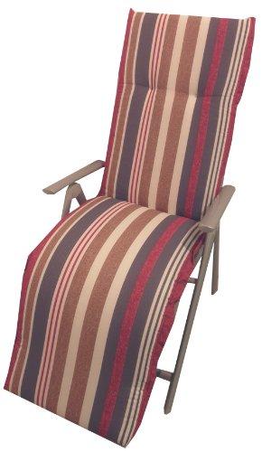 beo B021 Ascot RE Saumauflage für Relaxstühle, circa 52 x 174 cm, circa 7 cm Dick