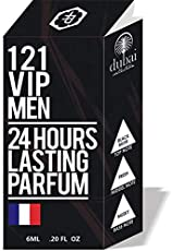 121 VIP MEN BY PARAG FRAGRANCES 6ML Long Lasting Attar For Men and Women (Alcohol Free)