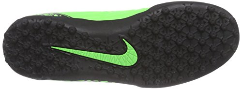 Nike  Hypervenom Phelon II TF, Chaussures de football hommes GREEN STRIKE/BLACK-BLACK