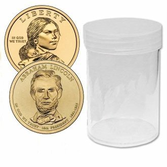 Round Small Dollar Coin Tubes Storage 26mm by BCW by BCW