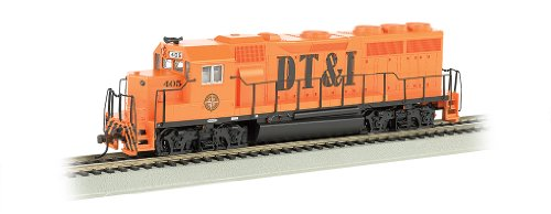 Bachmann Industries EMD GP40 DCC Equipped Locomotive DT&I #405 HO Scale Train Car