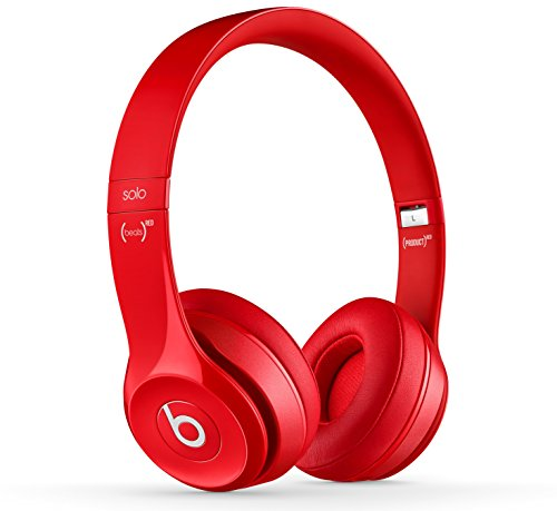 Beats by Dr. Dre Solo2 Cuffie Wireless On-Ear, Rosso (Rouge Brillant)