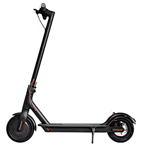 Xiaomi Unisex Youth Mi Scooter Elektro, mit 30 km Reichweite, Schwarz