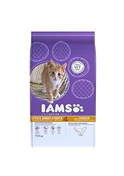 Iams - 5000174275667 - Nourriture pour chaton et jeune chat - Poulet - 10 kg