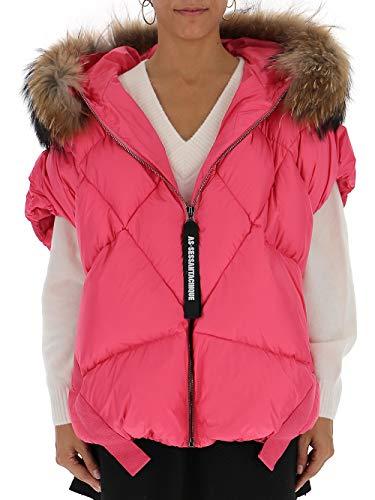 AS65 Y29015SPL330 Damen Rosa Polyester Jacke