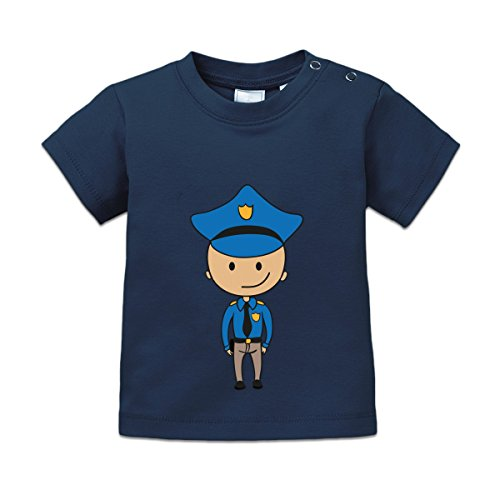 Character Baby T-shirt (Police Comic Character Baby T-Shirt by Shirtcity)
