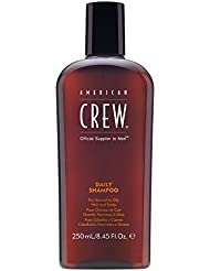 AMERICAN CREW DAILY SHAMPOO Shampoing Quotidien pour Cheveux/Cuir Chevelu Normaux à Gras, 250ml