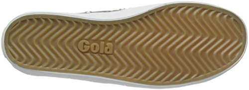 Gola Coaster Metallic, Sneakers Basses Femme Or (Rose Gold/rose Gold)