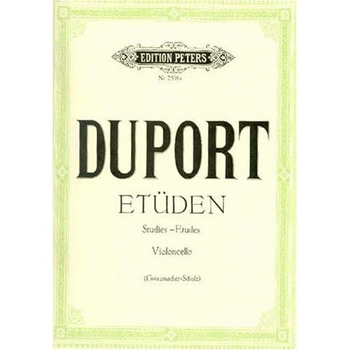 Etudes (21) - Vc solo
